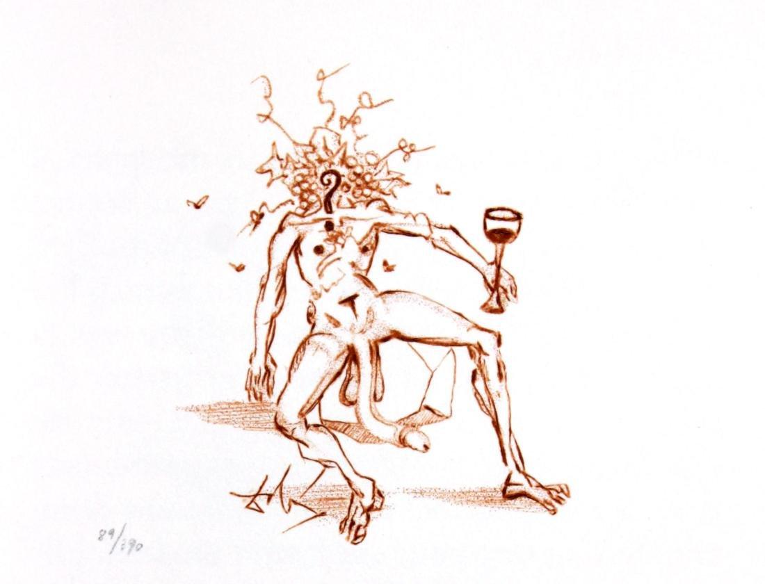 Salvador Dali - Casanova Illustration VI