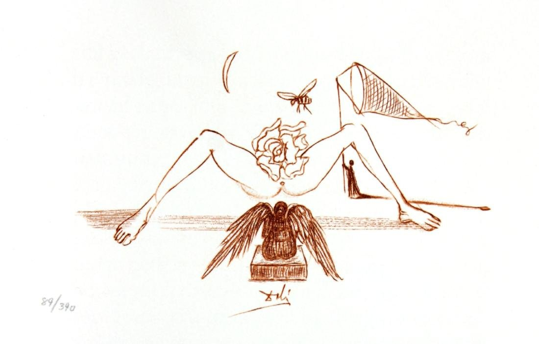 Salvador Dali - Casanova Illustration II