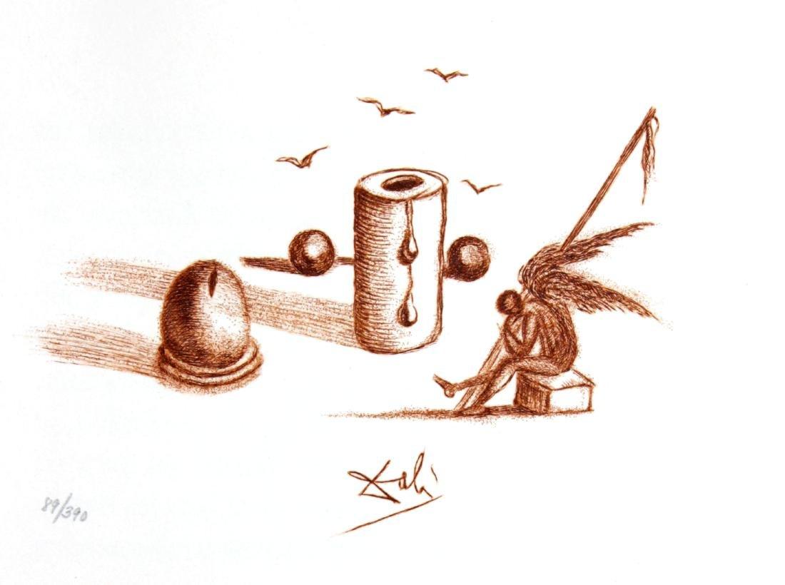 Salvador Dali - Casanova Illustration I