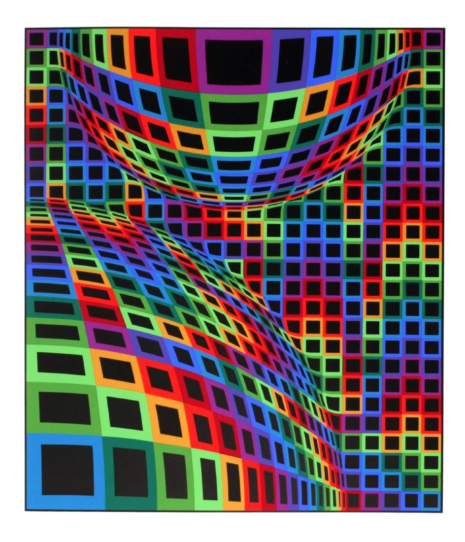 """Victor Vasarely - Untitled from """"Album International 2"""""""