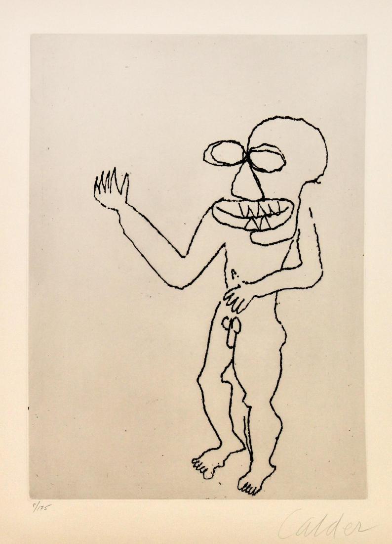 Alexander Calder - Santa Claus VIII
