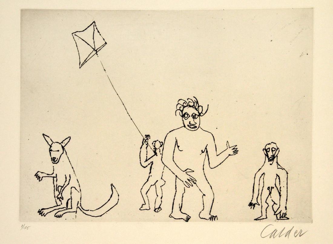 Alexander Calder - Santa Claus VII