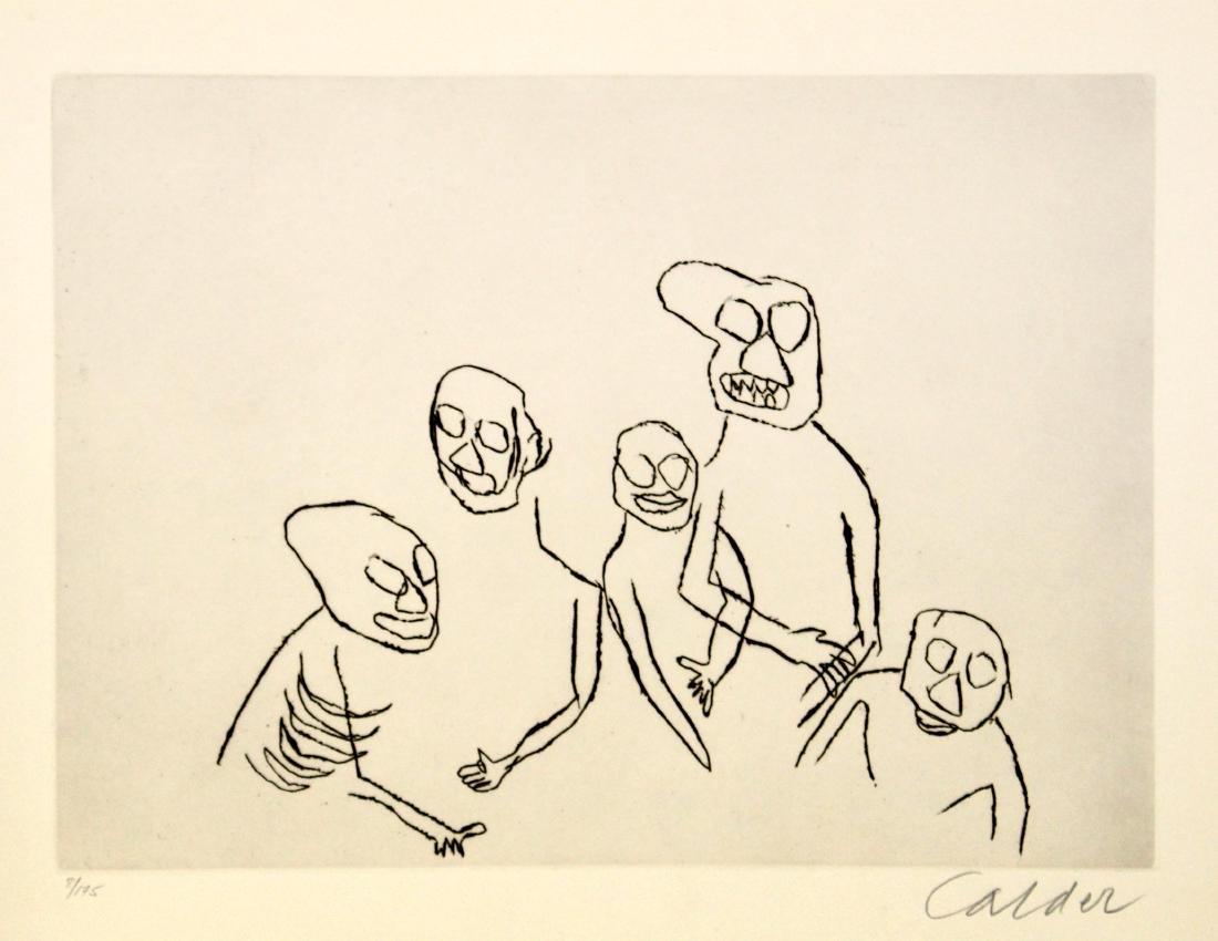 Alexander Calder - Santa Claus VI