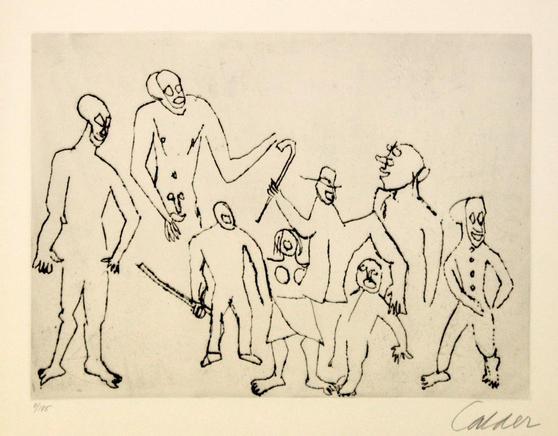 Alexander Calder - Santa Claus IV