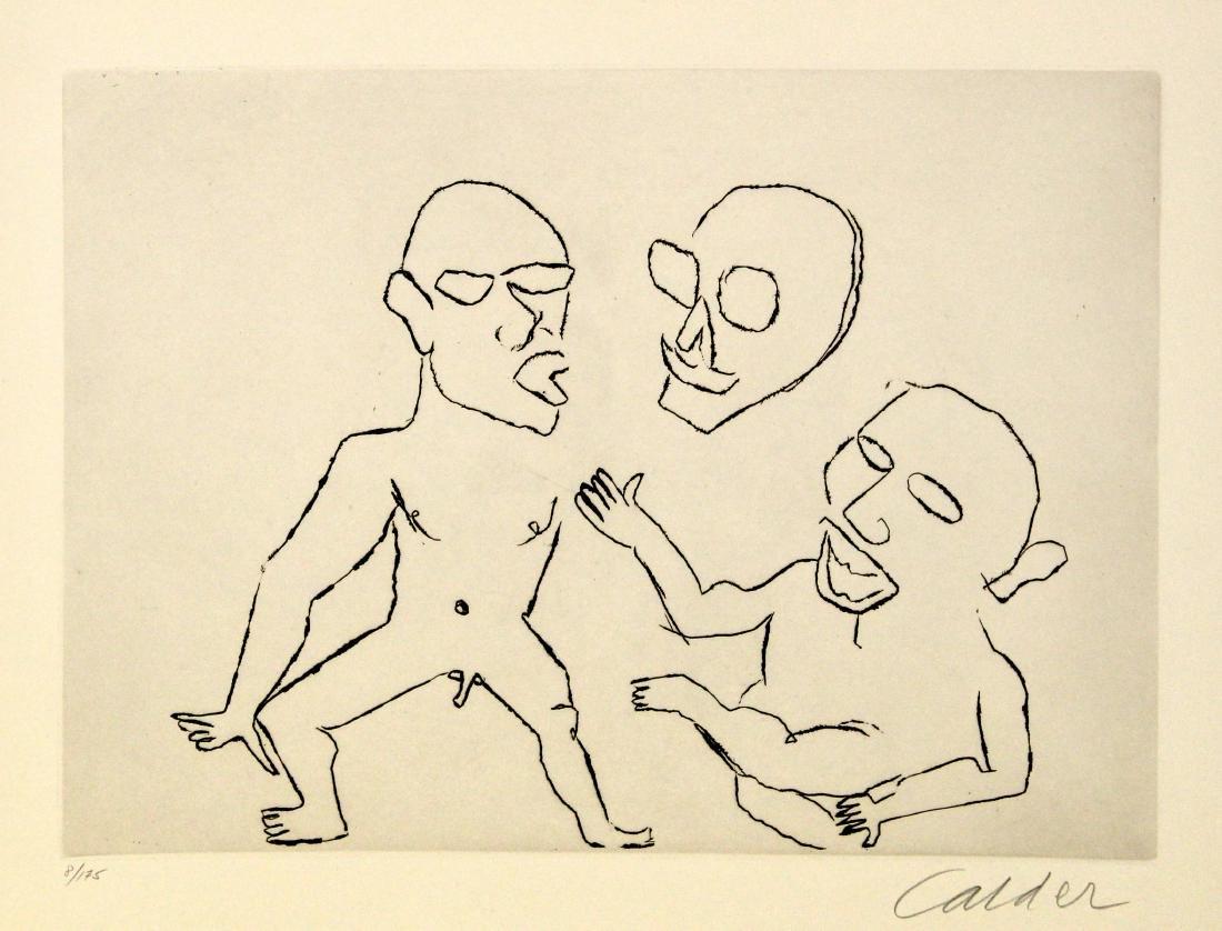 Alexander Calder - Santa Claus III