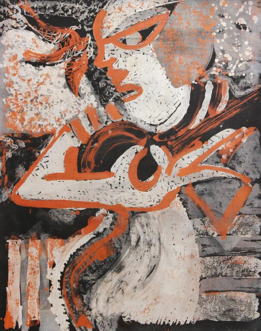 Robert Kushner - Untitled Lithograph