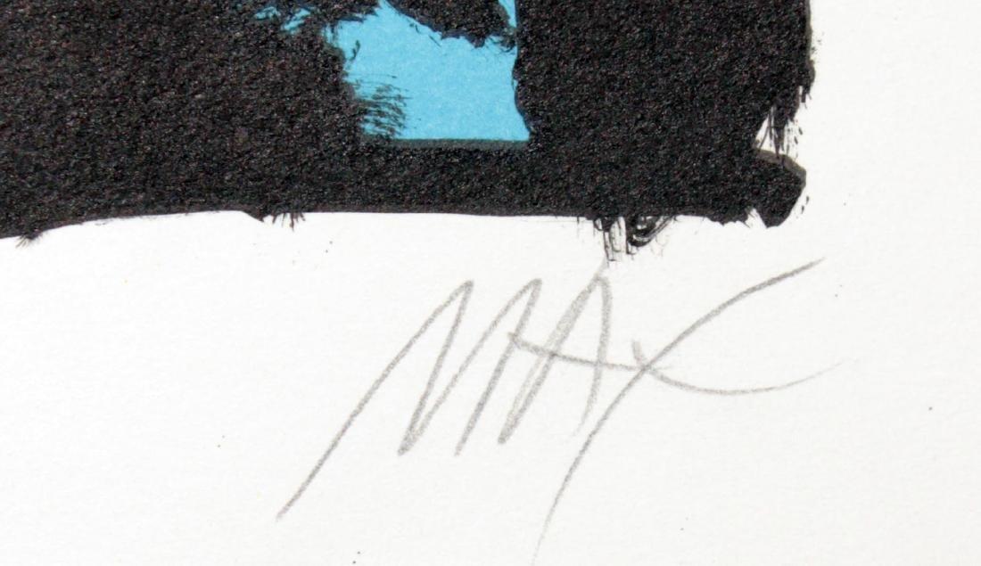 Peter Max - Aztec Man - 2