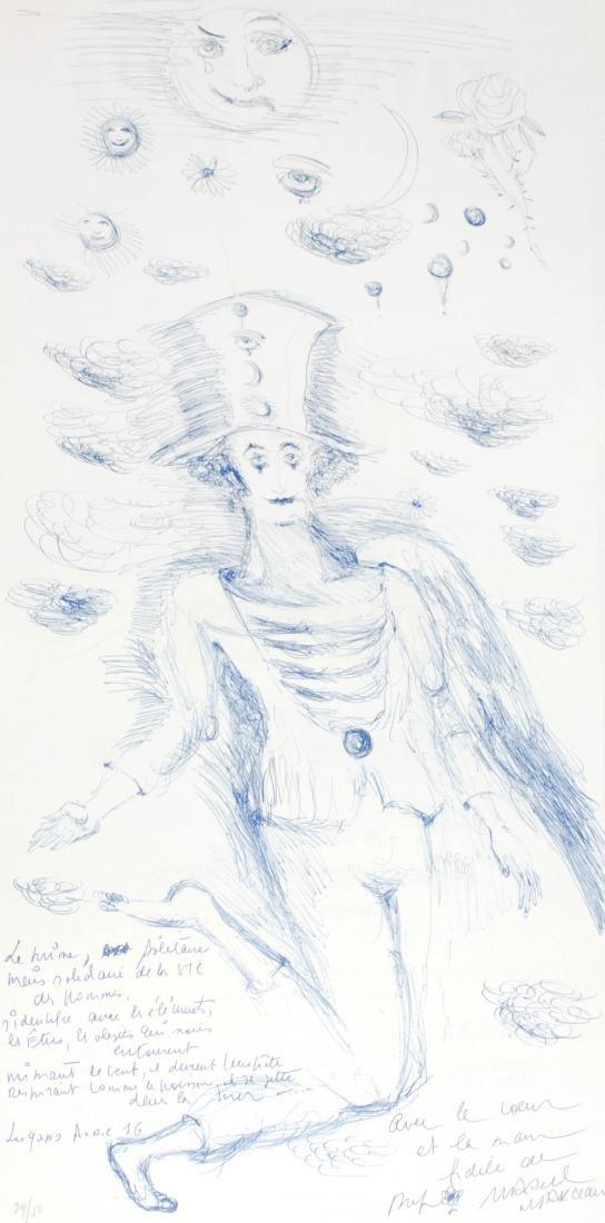 "Marcel Marceau - Untitled from ""Album International 2"""