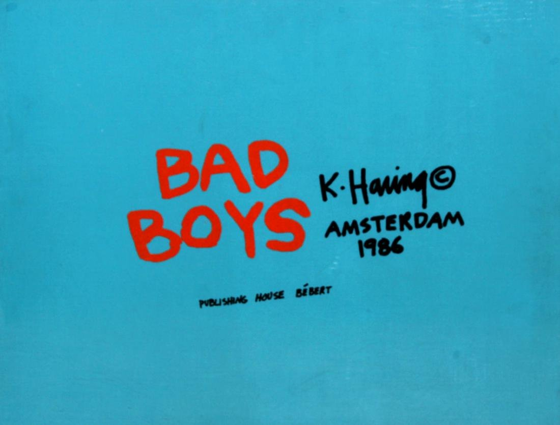 Keith Haring - Bad Boys Cover Portfolio