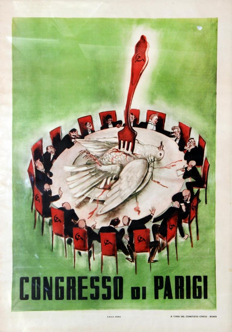 Civic Committee of Rome - Congresso di Parigi