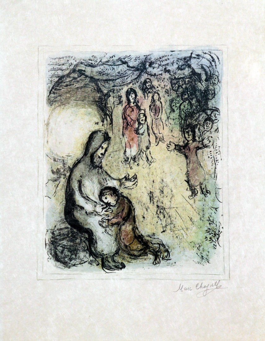 Marc Chagall - Jacob's Blessing