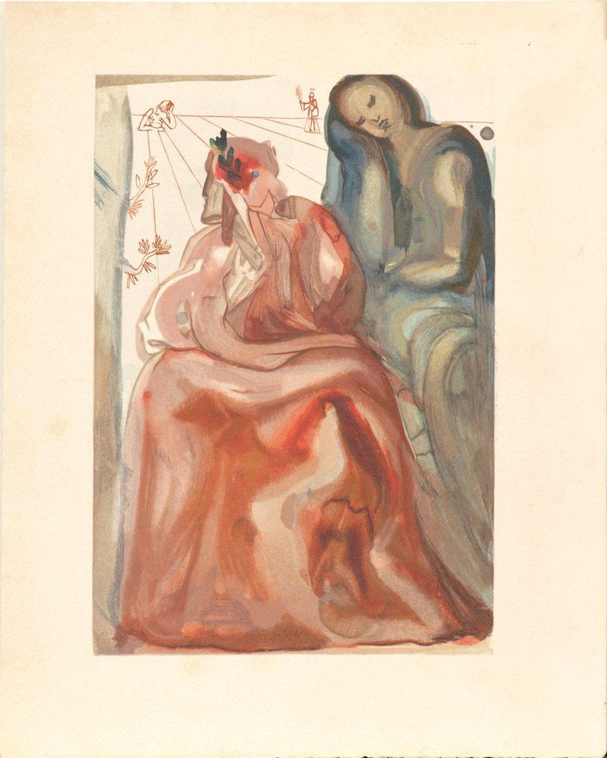 Salvador Dali -  Dante's Confession