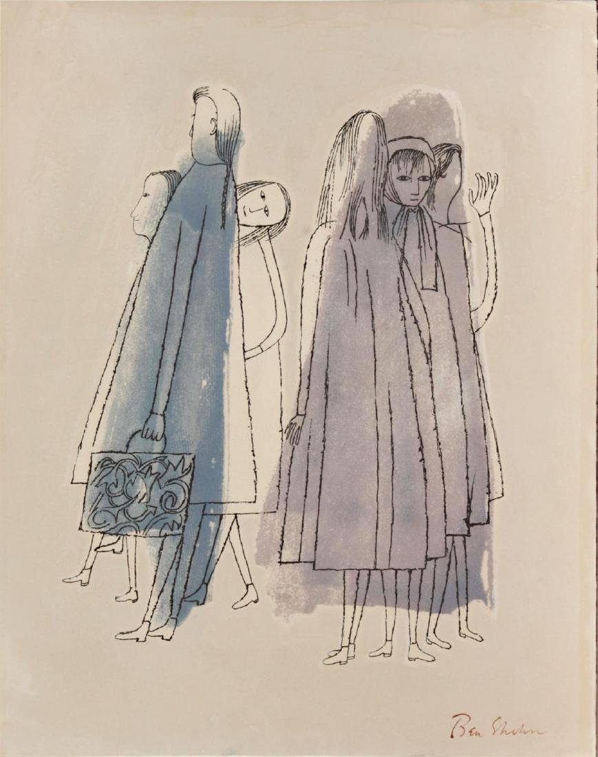 Ben Shahn - Two Days of Childhood That are Still