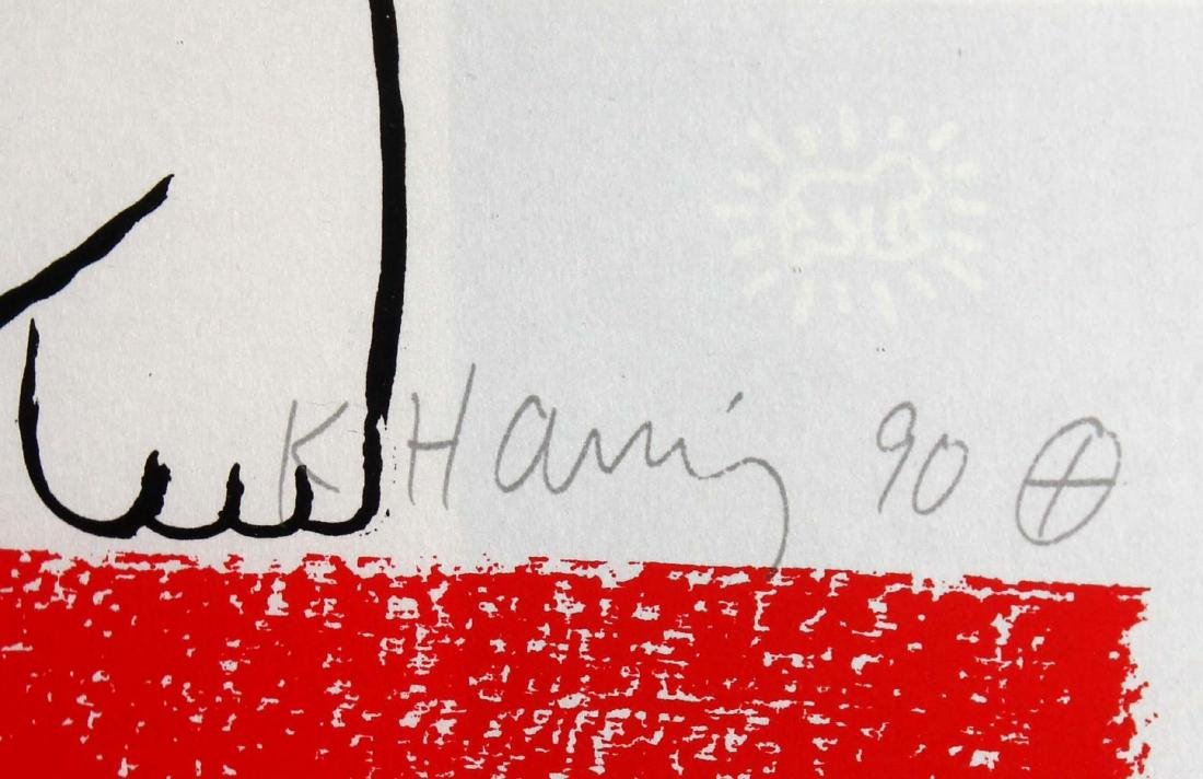 Keith Haring - No. 18 (Story of Red and Blue) - 2