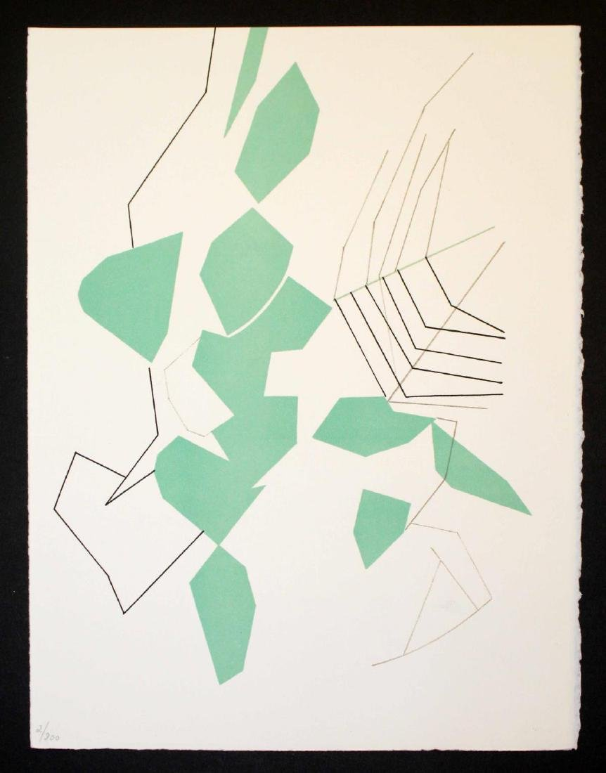 Andre Beaudin - Feuilles evedees