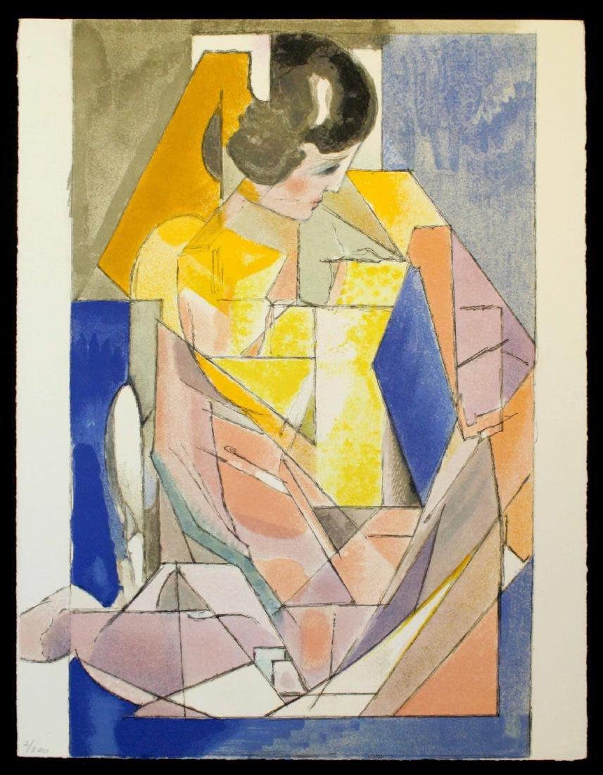 Jacques Villon - Portrait d'une jeune fille