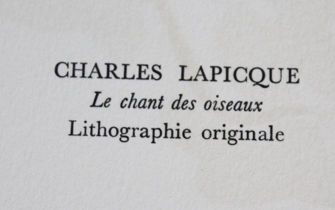 """Charles Lapicque - """"Le Chant Des Oiseaux"""" from - 2"""