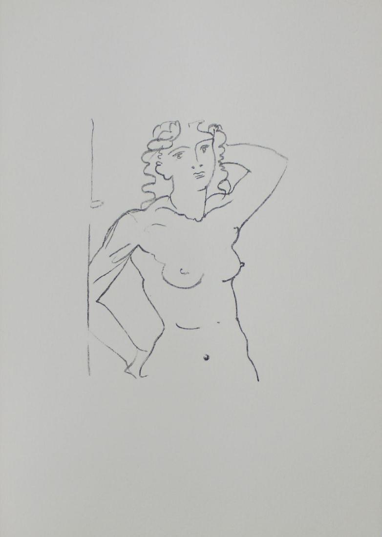 """Andre Derain - """"Buste de Femme (1950)"""" from Souvenirs"""