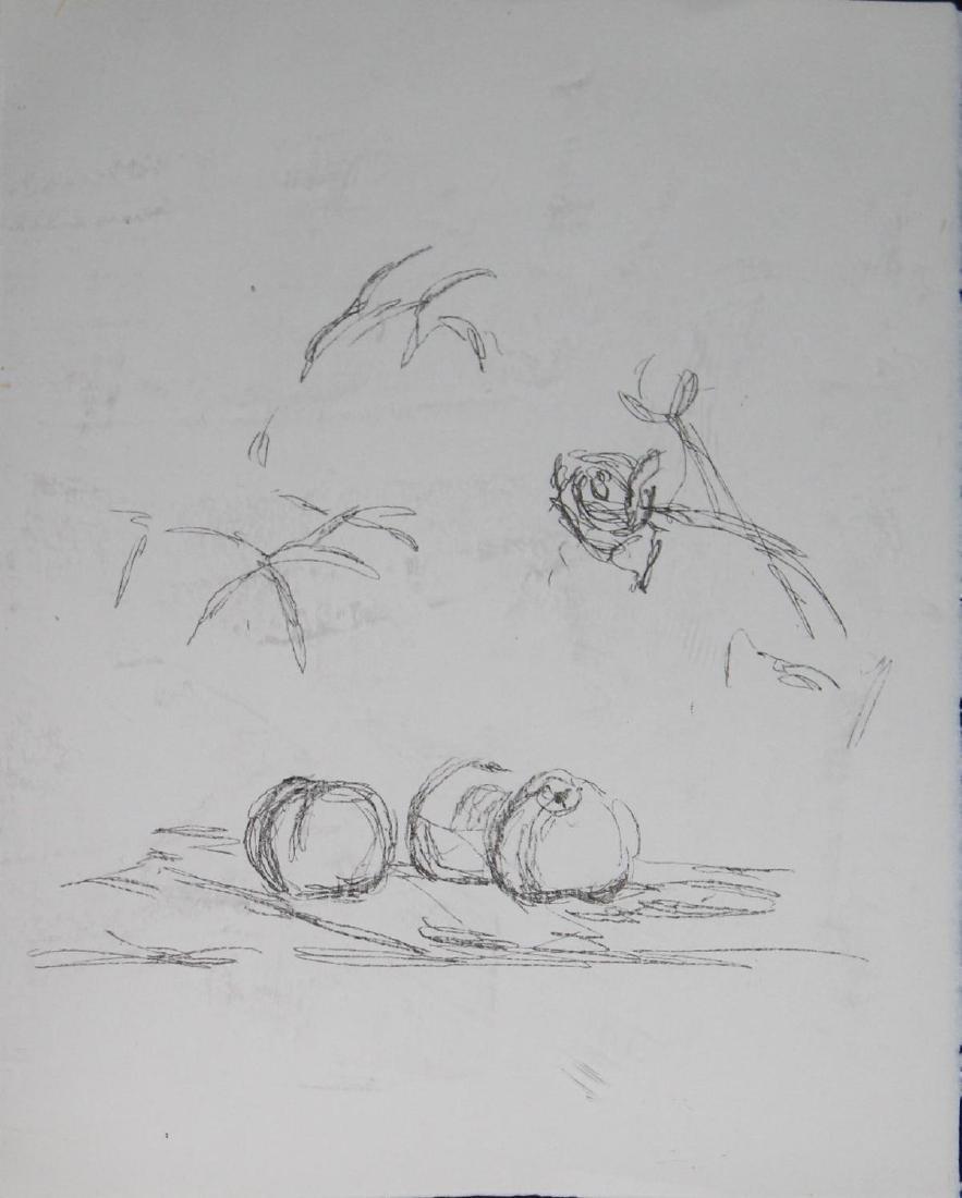 Alberto Giacometti - Fleurs