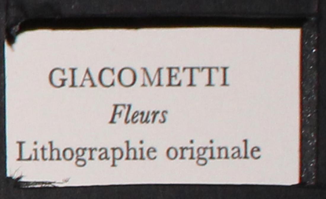 Alberto Giacometti - Fleurs - 2