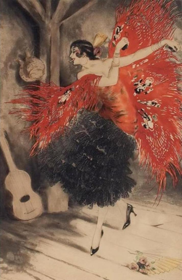 Louis Icart - Spanish Dance
