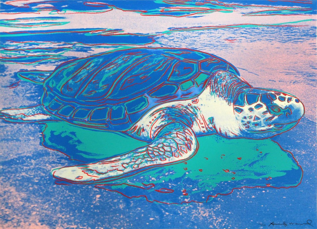Andy Warhol - Sea Turtle