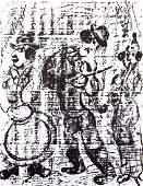 Marc Chagall - Wandering Musicians