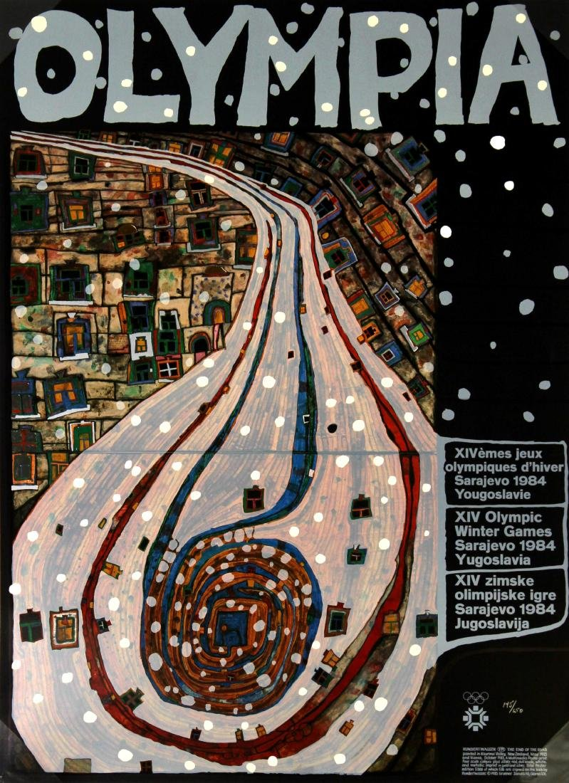 Friedensreich Hundertwasser - Olympia The End of the