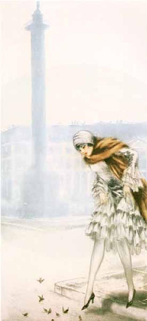 Louis Icart - Place Vendome