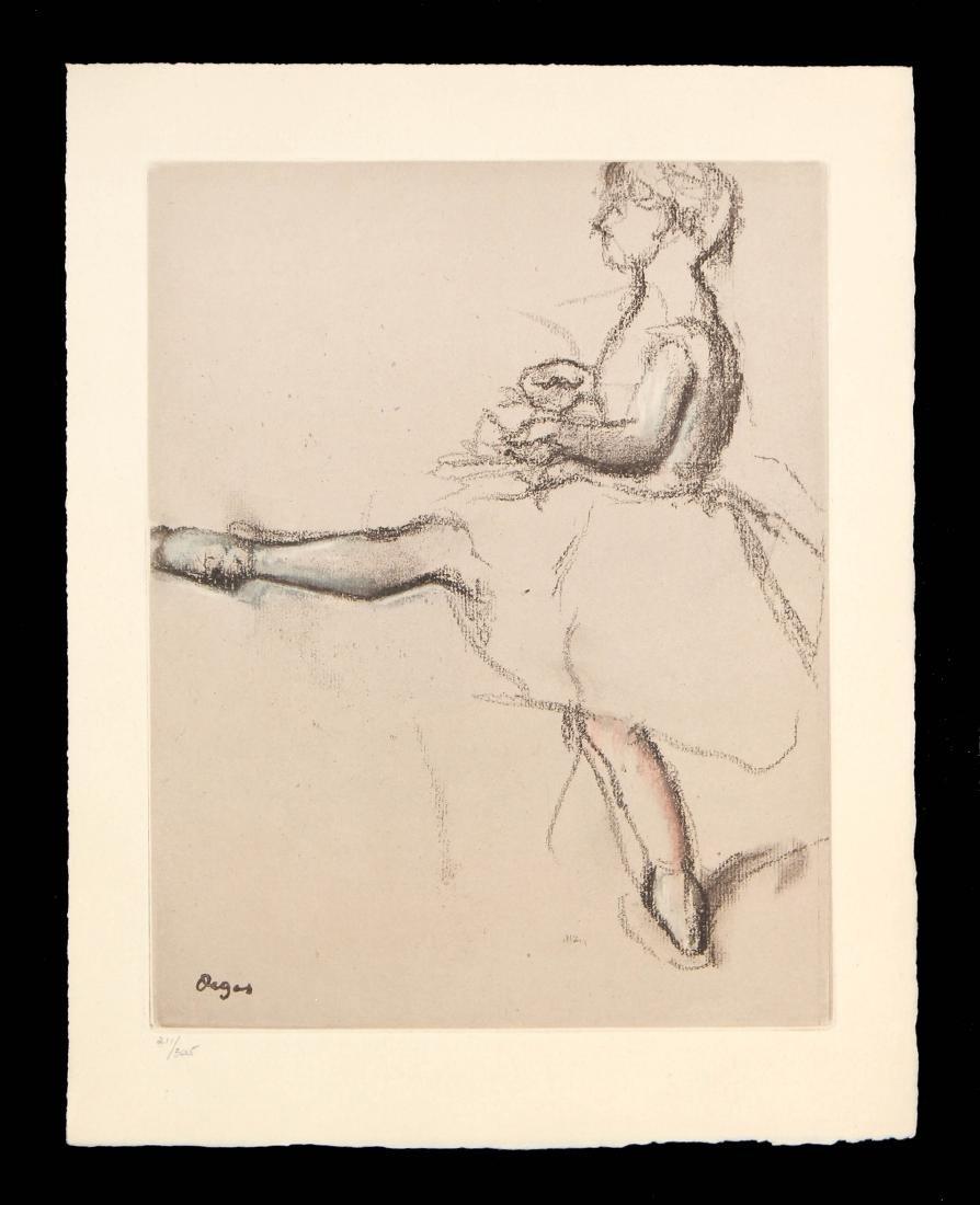 """Edgar Degas - Untitled from """"Danse Dessin"""""""