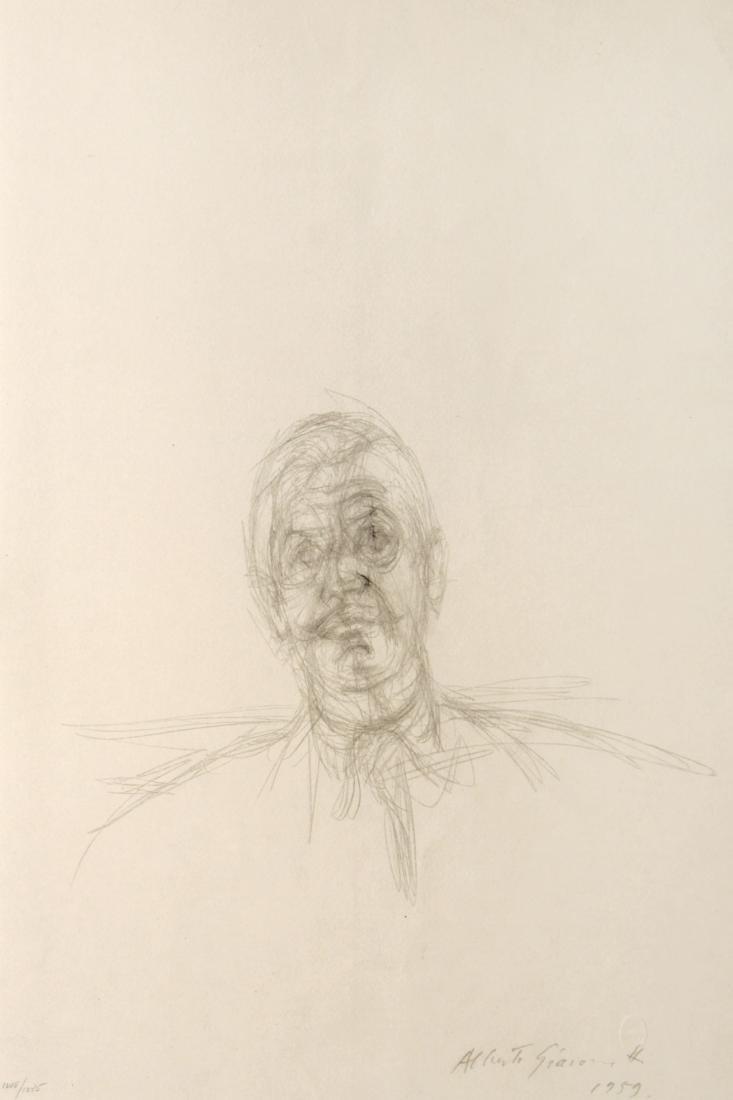 Alberto Giacometti - Ritratto di Meyer
