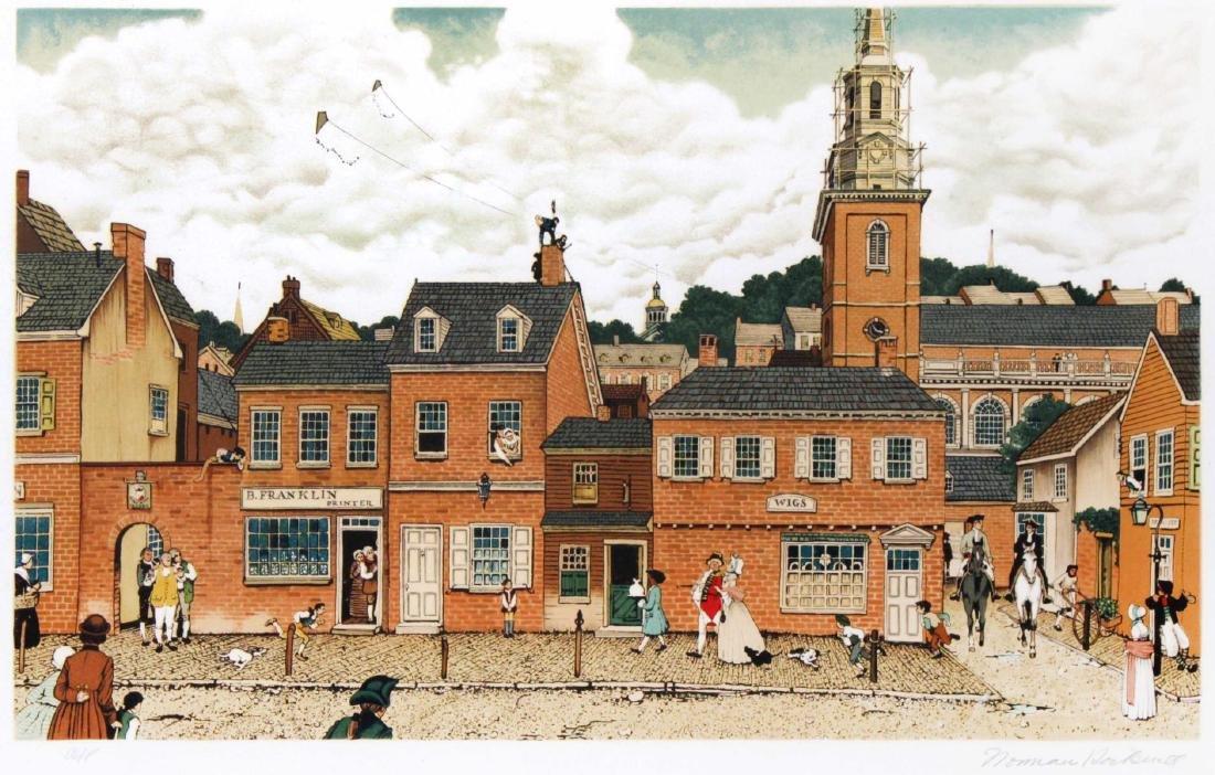 Norman Rockwell - Ben Franklin's Philadelphia