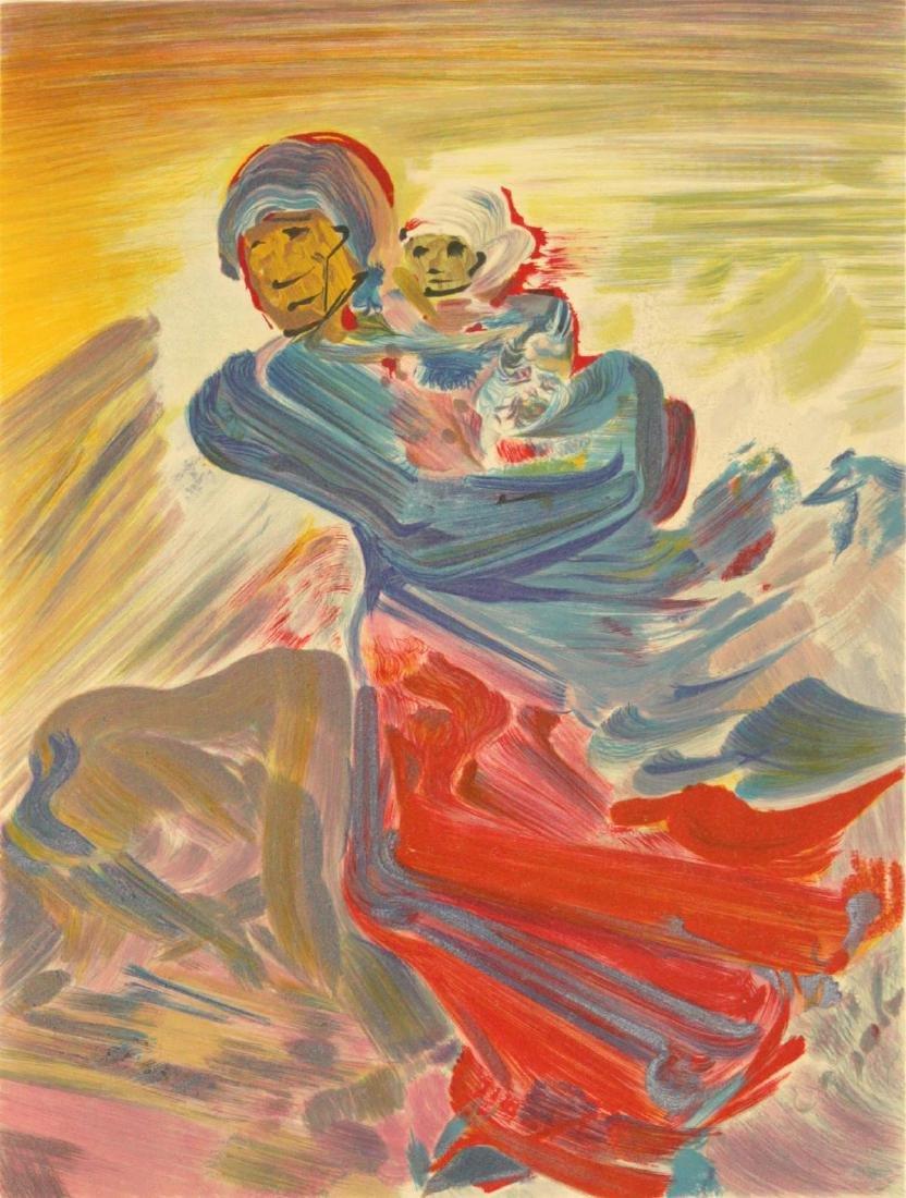 David Alfaro Siqueros  - Femme et Enfant