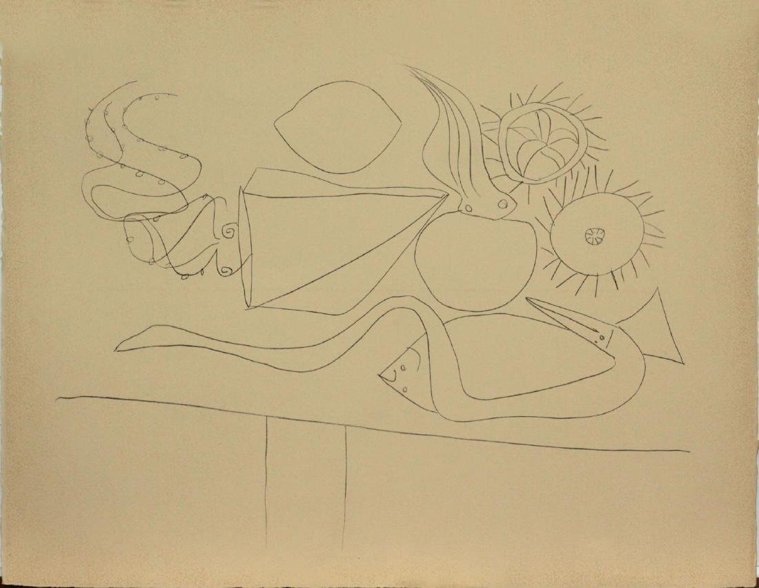 """Pablo Picasso - Untitled from """"Mes dessins d'Antibes"""""""