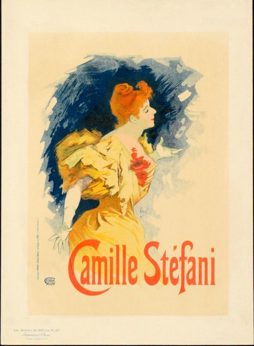 Jules Cheret - Vintage Poster for Camile Stefani