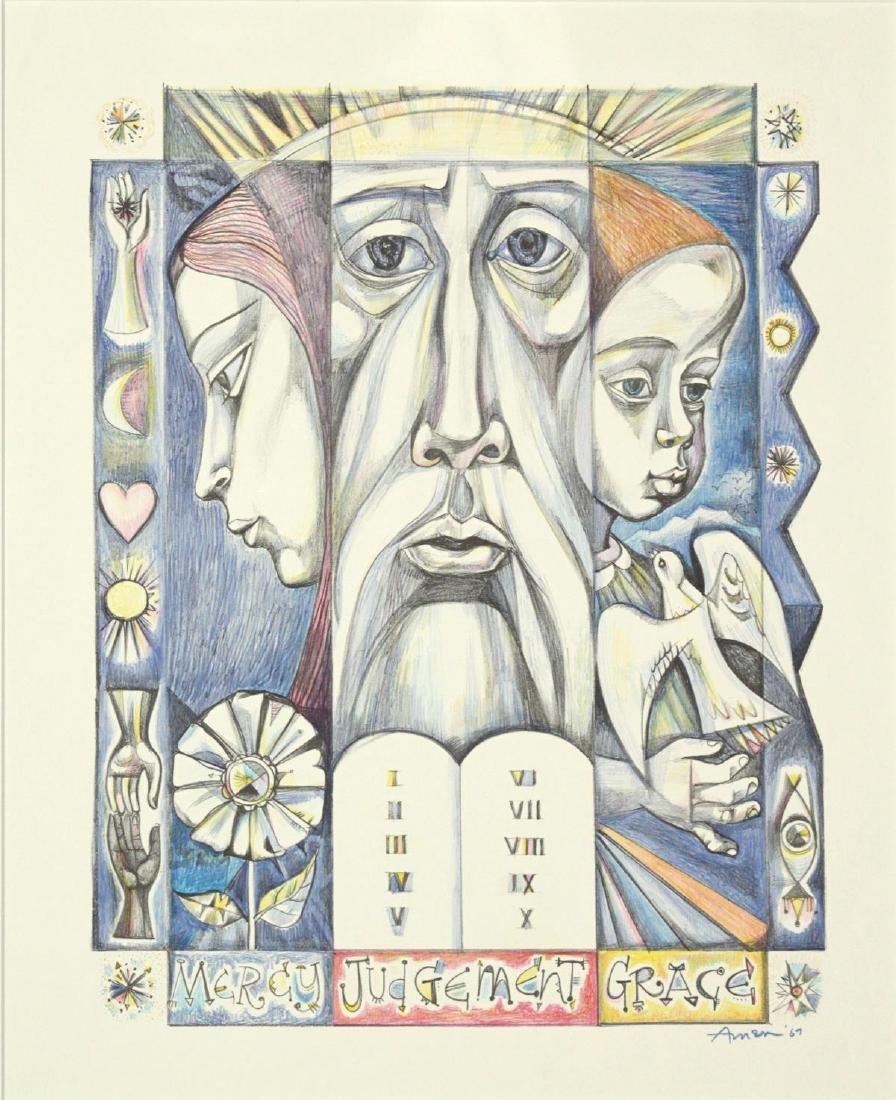 Irving Amen - Mercy Judgement Grace