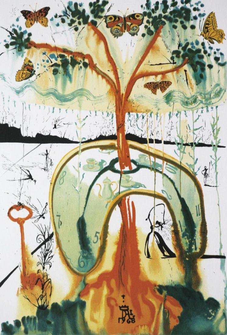Salvador Dali (After) - A Mad Tea Party