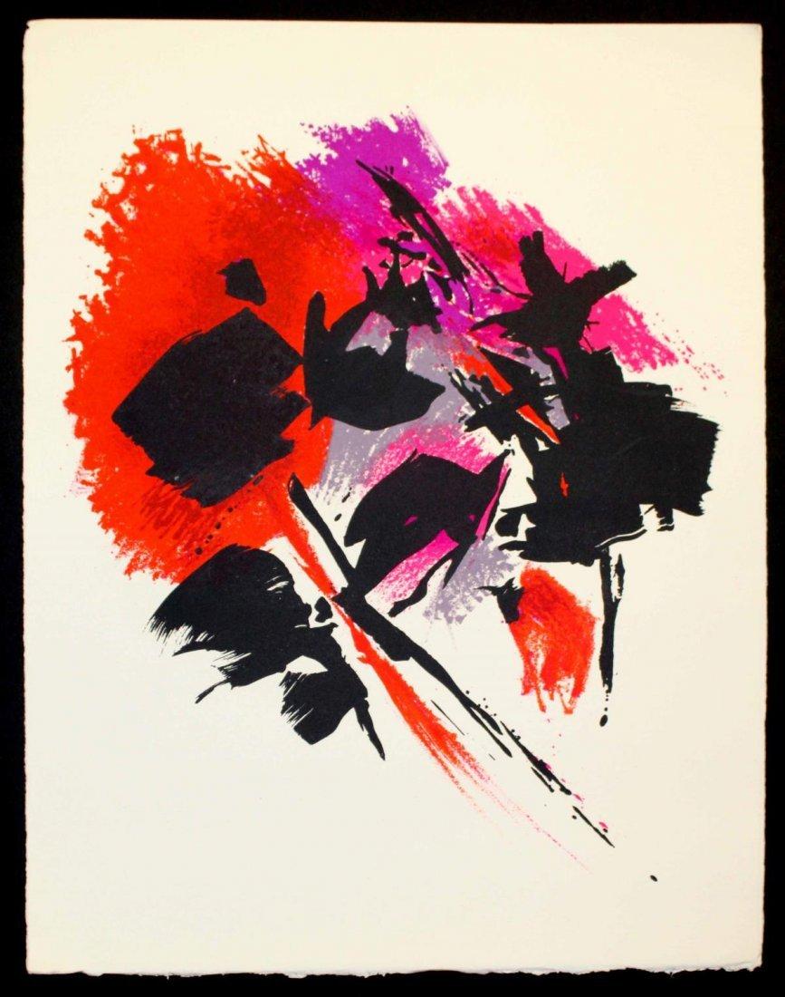 Alfred Manessier - La tache rouge