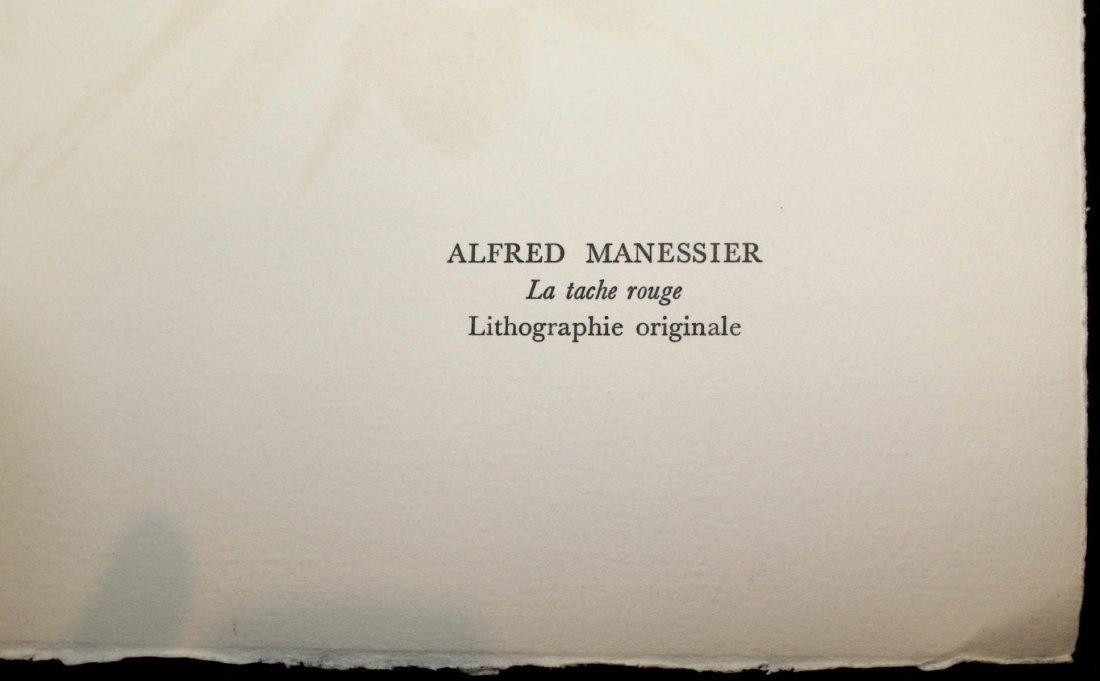 Alfred Manessier - La tache rouge - 2
