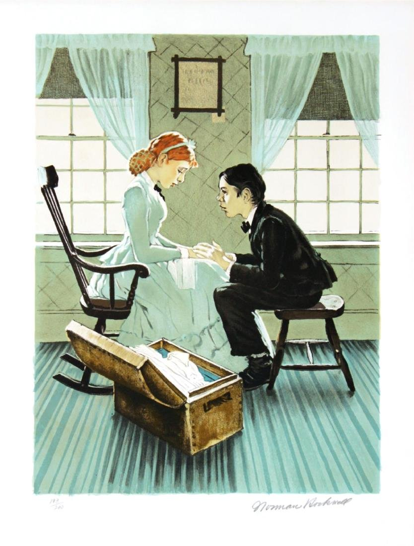 Norman Rockwell - Huck and Mary Jane