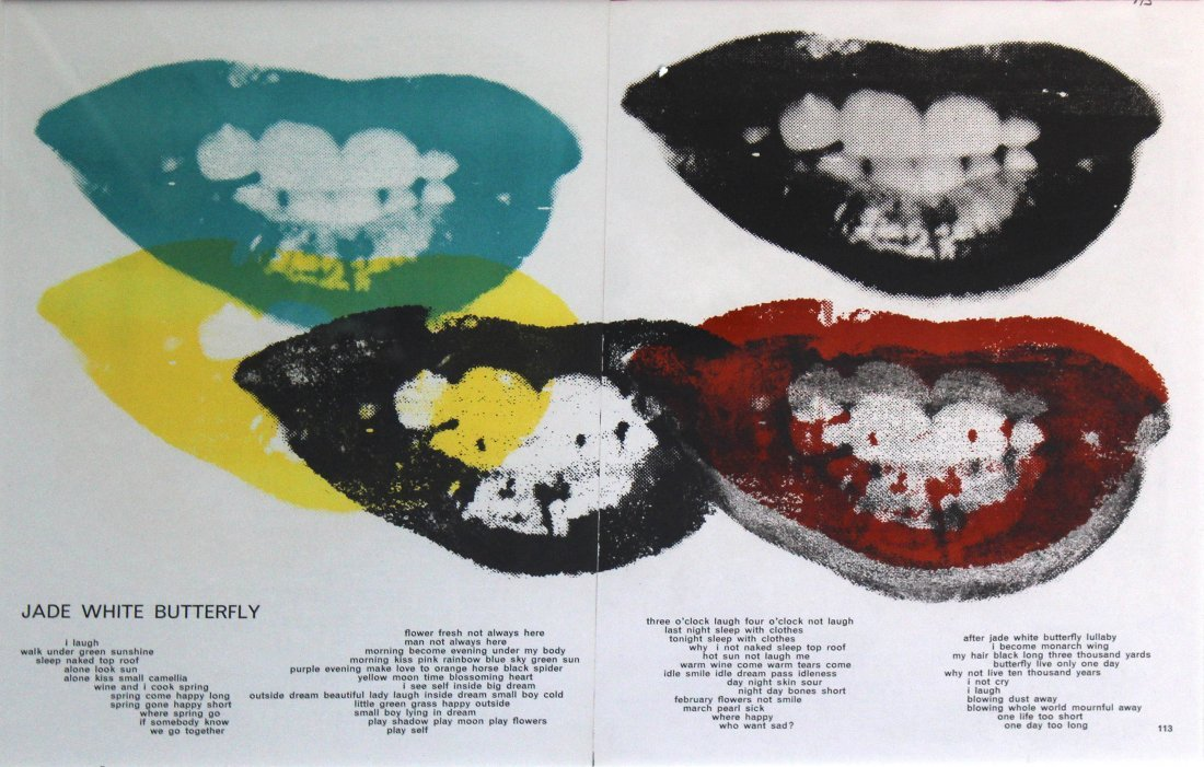 Andy Warhol - Marilyn's Lips