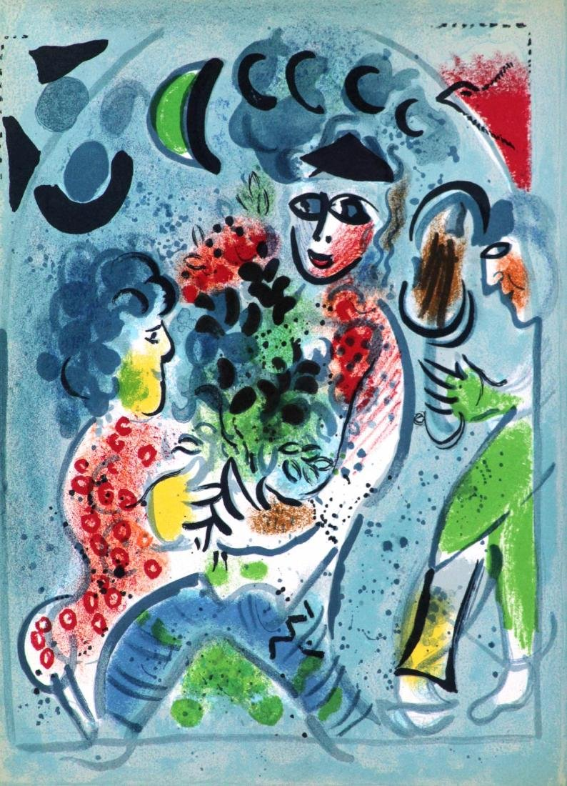 Marc Chagall - Untitled from Chagall Lithographe III