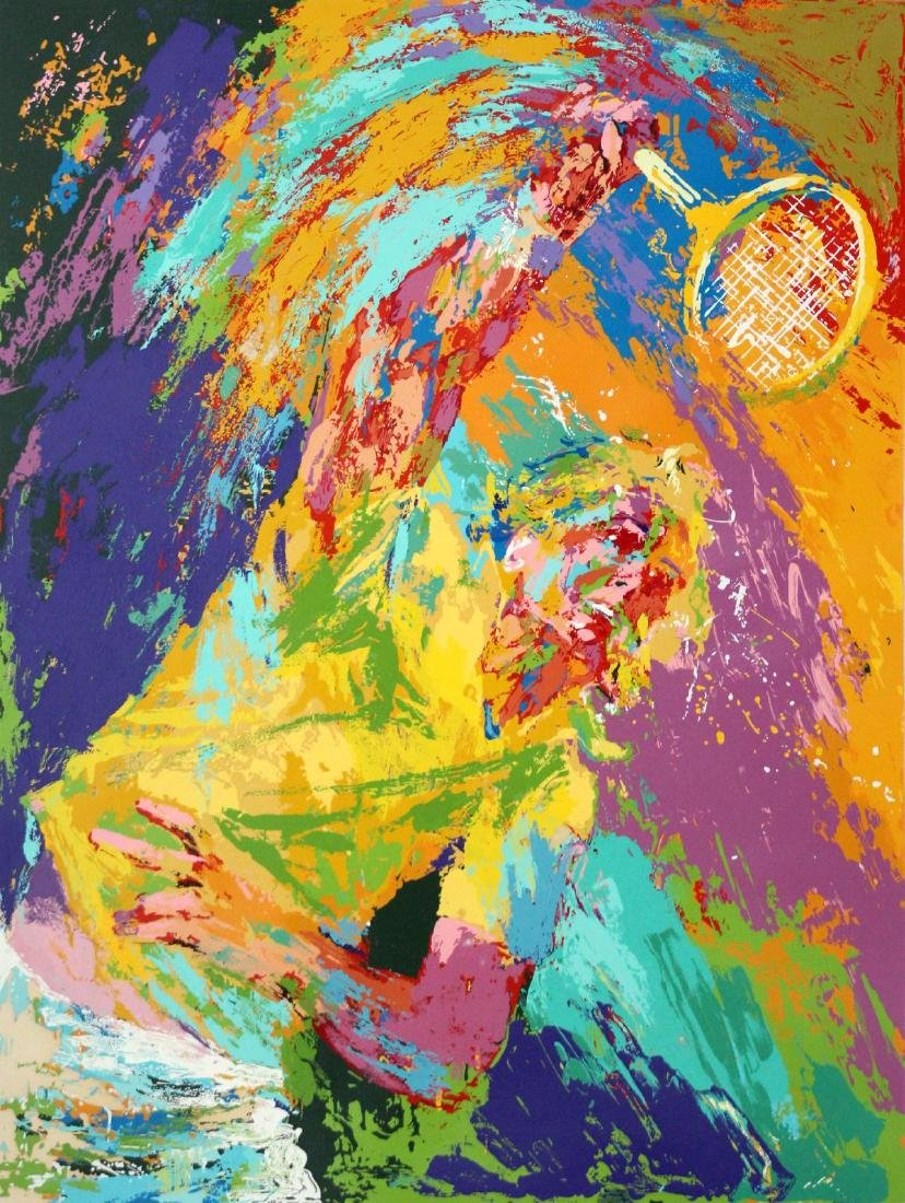 Leroy Neiman - Power Serve