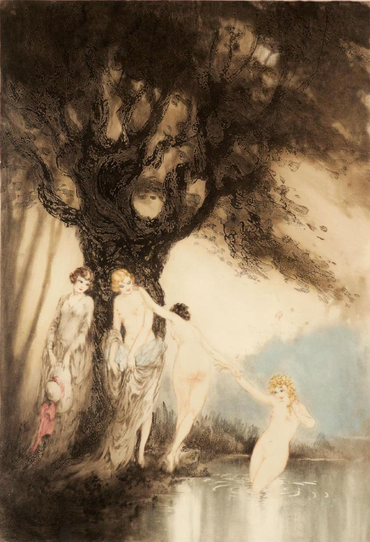 Louis Icart - Bathing Beauties