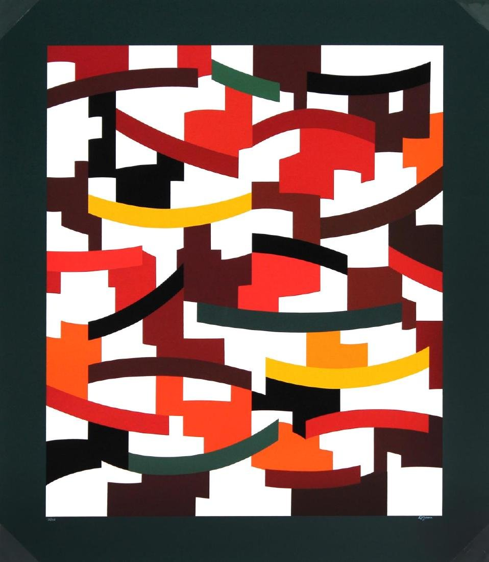 Yaacov Agam - Composition