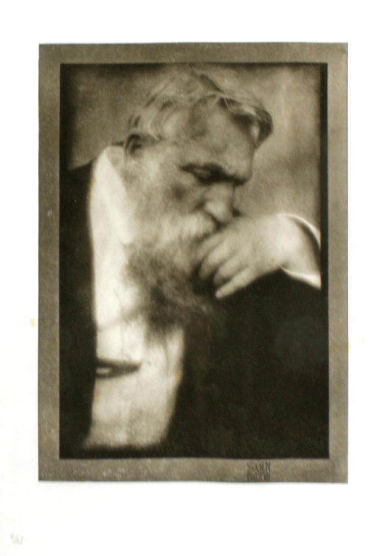 Auguste Rodin - Cliche d'Eduard J. Stechen a Paris