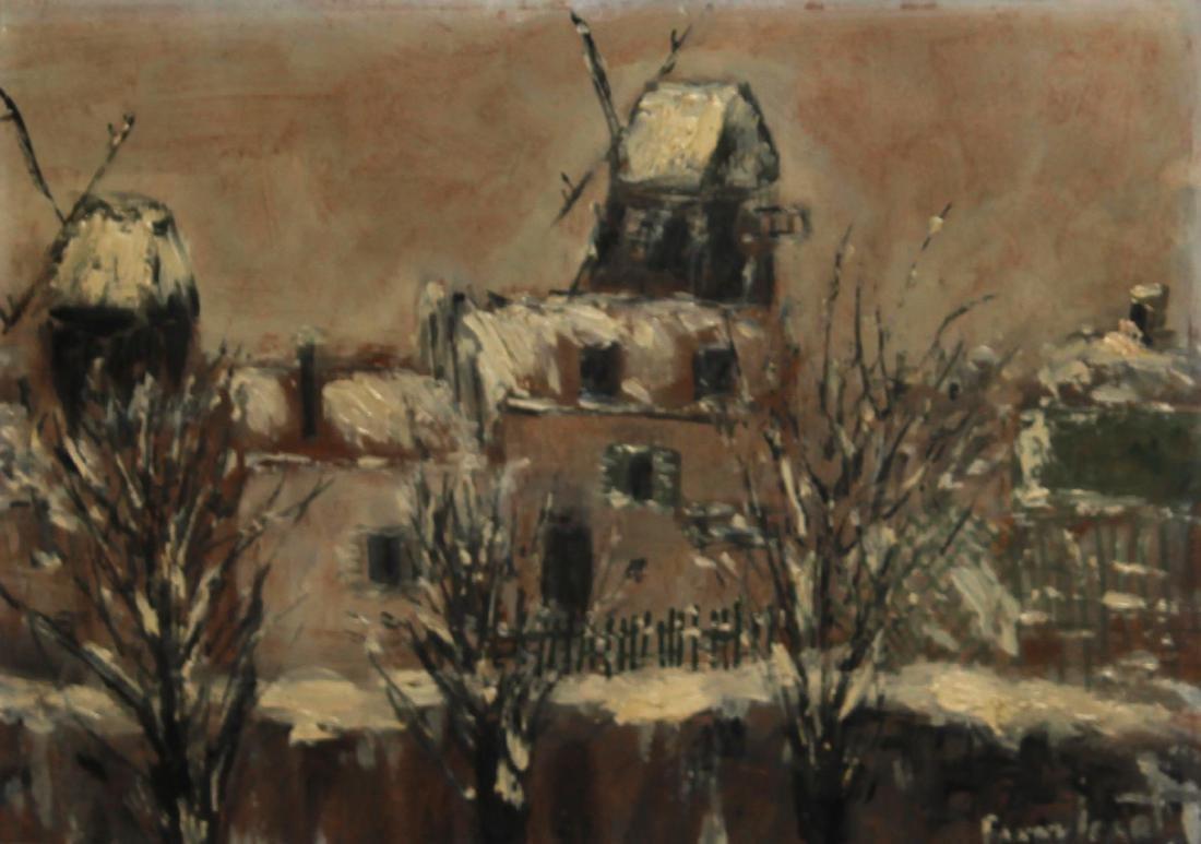 Fanny Icart - View of Montmarte