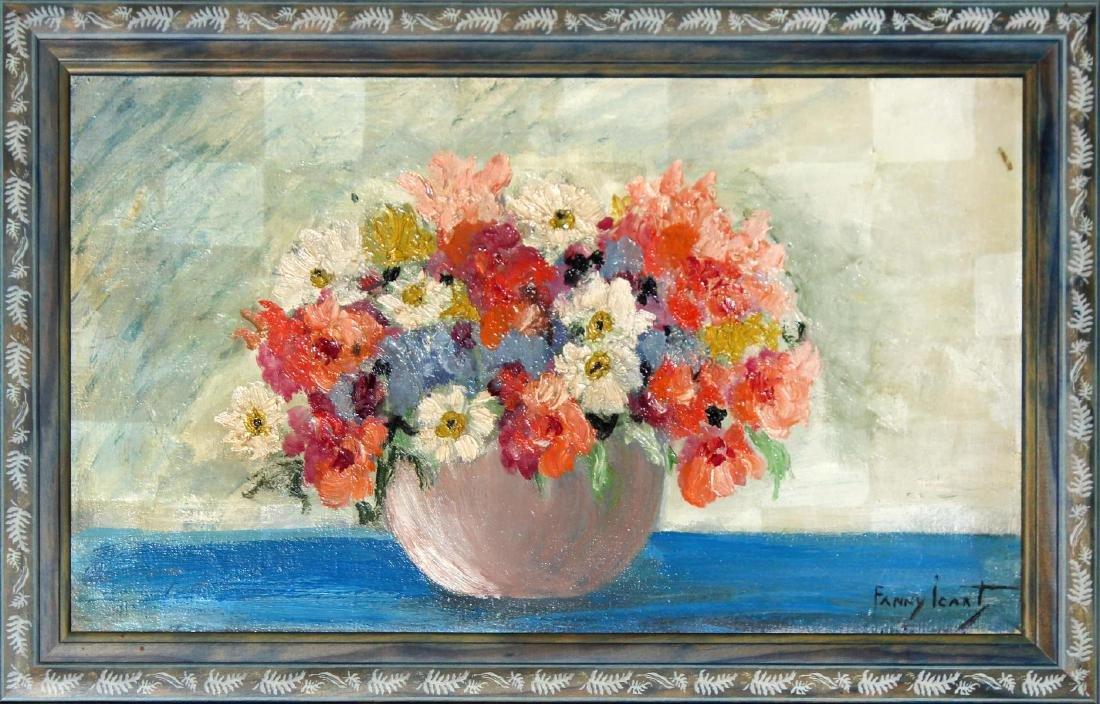 Fanny Icart - Vase of Flowers