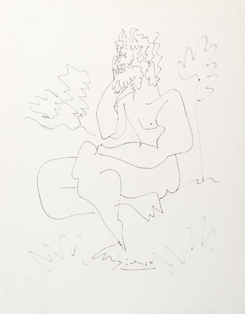 Pablo Picasso (After) - Les Cavaliers de l'Ombre