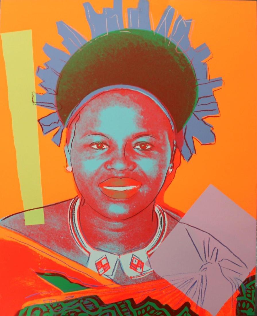 Andy Warhol - Ntombi Twala of Swazilland